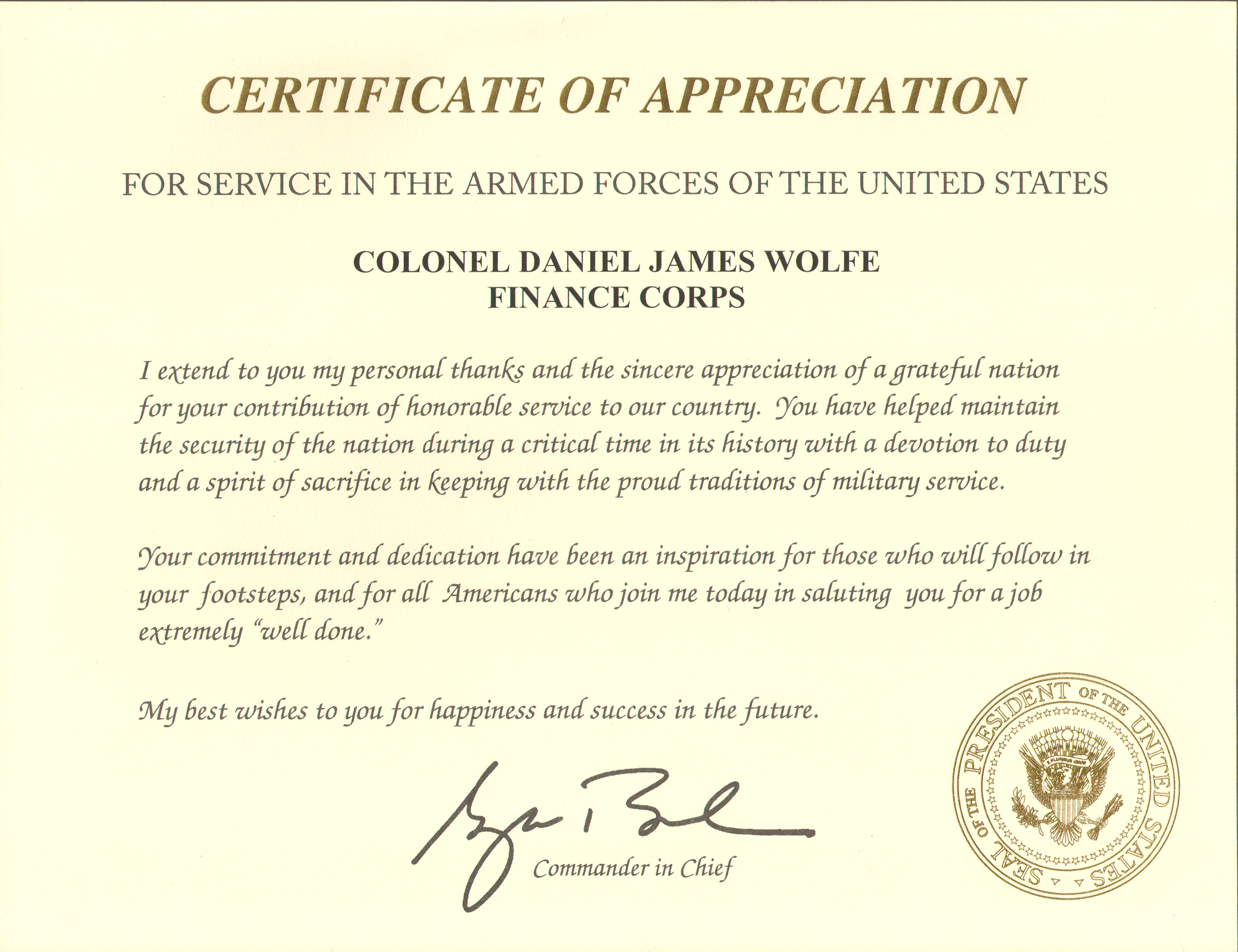 retirement letter of appreciation from the president award form army tulum smsender co 116